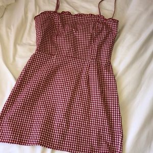 Kendall & Kylie gingham dress